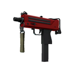 Souvenir MAC-10 | Candy Apple (Minimal Wear)