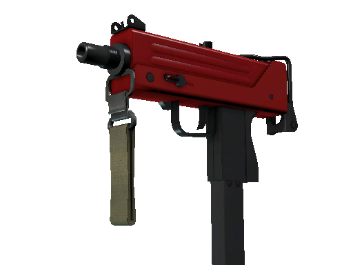 MAC-10 | Candy Apple (Minimal Wear)