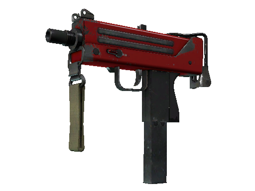 MAC-10 | Candy Apple Field-Tested