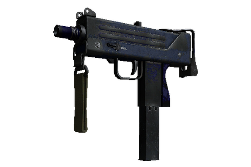 Buy MAC-10 | Indigo (Battle-Scarred)