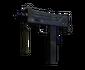 MAC-10 | Indigo (Battle-Scarred)