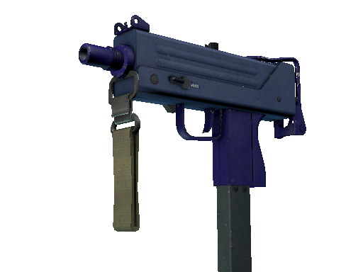 MAC-10 | Indigo (Well-Worn)