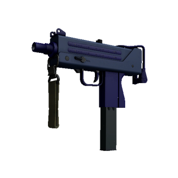 MAC-10 | Indigo (Minimal Wear)