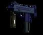 MAC-10 | Indigo (Minimal Wear)