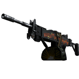 StatTrak™ Negev | Bratatat (Battle-Scarred)