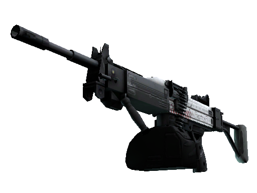 StatTrak™ Negev | Prototype (Battle-Scarred)