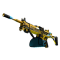 StatTrak™ Negev | Power Loader <br>(Well-Worn)
