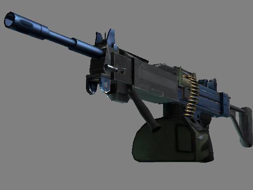 Assault Negev Анодированная синева