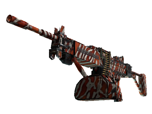 StatTrak™ Negev | Lionfish (Well-Worn)