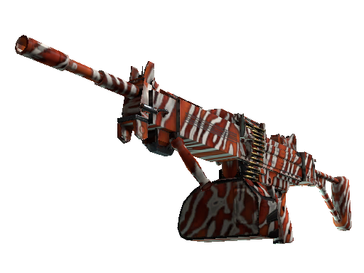 Negev | Lionfish (Battle-Scarred)