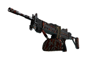 Stattrak Trade Negev Lionfish Battle Scarred