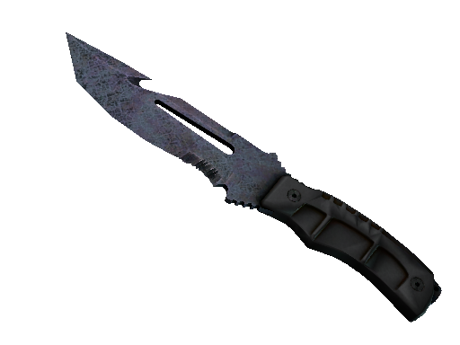 ★ Survival Knife | Blue Steel Battle-Scarred