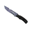 ★ Survival Knife | Blue Steel <br>(Well-Worn)