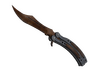 Skin Butterfly Knife | Rust Coat