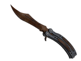 ★ Butterfly Knife | Rust Coat (Battle-Scarred)