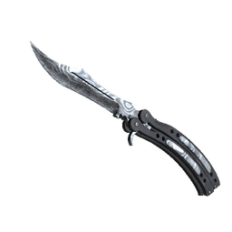 ★ Butterfly Knife | Damascus Steel (Well-Worn)