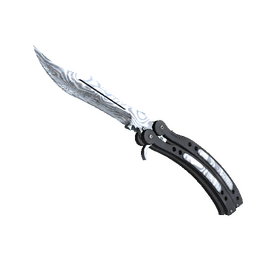 ★ StatTrak™ Butterfly Knife | Damascus Steel (Factory New)