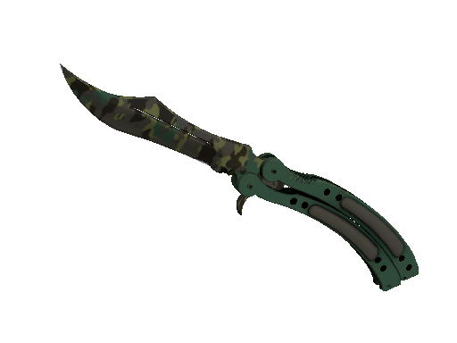 ★ Butterfly Knife | Boreal Forest (Battle-Scarred)