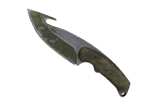 Gut Knife | Safari Mesh Battle-Scarred