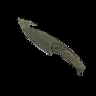 ★ StatTrak™ Gut Knife | Safari Mesh (Minimal Wear)