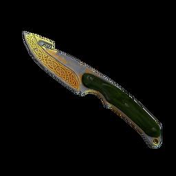 ★ StatTrak™ Gut Knife | Lore (Battle-Scarred)