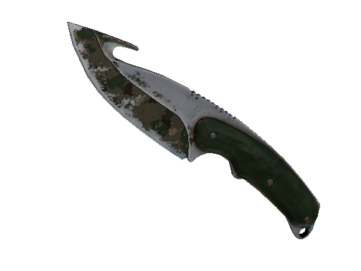 ★ Gut Knife | Forest DDPAT Battle-Scarred