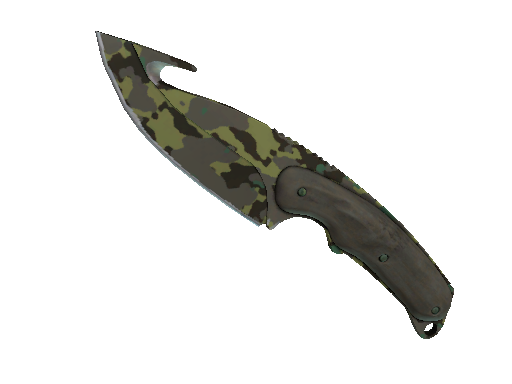 ★ StatTrak™ Gut Knife | Boreal Forest (Battle-Scarred)