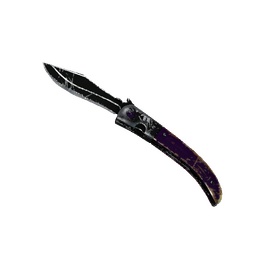 ★ StatTrak™ Navaja Knife | Ultraviolet (Battle-Scarred)