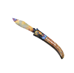 ★ StatTrak™ Navaja Knife | Case Hardened (Well-Worn)