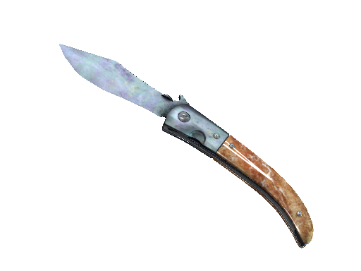 ★ StatTrak™ Navaja Knife | Blue Steel (Battle-Scarred)