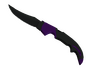 Falchion Knife - Ultraviolet
