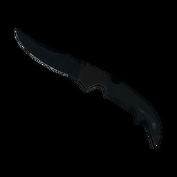 ★ StatTrak™ Falchion Knife | Night (Minimal Wear)