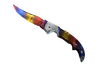 ★ Falchion Knife | Marble Fade (Minimal Wear)