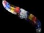 Falchion Knife - Marble Fade