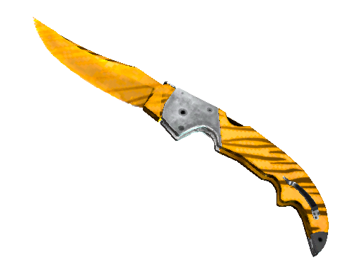 ★ StatTrak™ Falchion Knife | Tiger Tooth (Factory New)