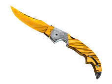 Skin Falchion Knife | Tiger Tooth