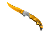 ★ Falchion Knife | Tiger Tooth (Minimal Wear)
