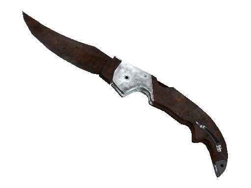 ★ StatTrak™ Falchion Knife | Rust Coat (Battle-Scarred)