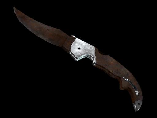 Rust Coat | Falchion Knife