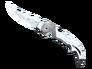 Falchion Knife - Damascus Steel