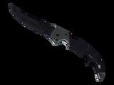 ★ Falchion Knife | Blue Steel (Battle-Scarred)
