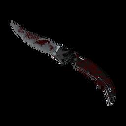 ★ Falchion Knife | Crimson Web (Battle-Scarred)