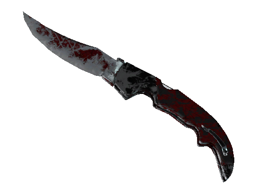 ★ Falchion Knife | Crimson Web Battle-Scarred