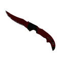 ★ StatTrak™ Falchion Knife | Crimson Web <br>(Well-Worn)