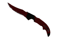★ Falchion Knife   Crimson Web (Field-Tested)