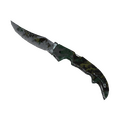 ★ Falchion Knife | Boreal Forest <br>(Battle-Scarred)