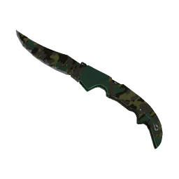 ★ StatTrak™ Falchion Knife | Boreal Forest (Well-Worn)