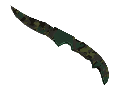 ★ Falchion Knife | Boreal Forest (Battle-Scarred)