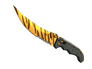Skin Flip Knife | Tiger Tooth