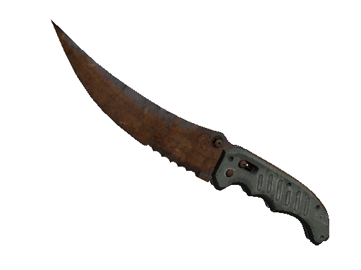 Knives ★ Flip Knife Rust Coat